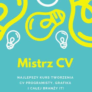 Stwórz godne podwyżki CV dla programisty i branży IT!