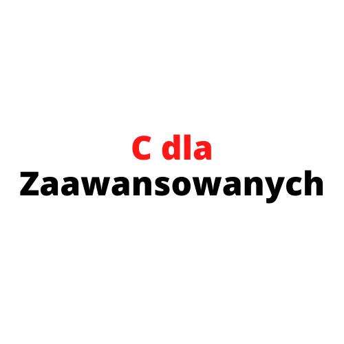 C dla zaawansowanych