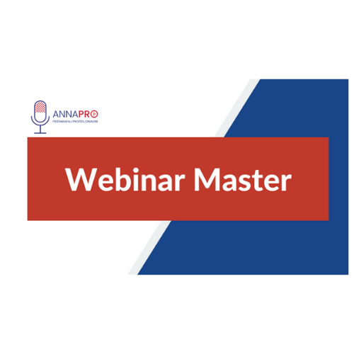 Kurs Webinar Master